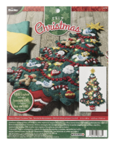 Bucilla 'Merry and Bright Christmas Tree' LED Felt Wall Hanging Kit, 86738 - $36.99