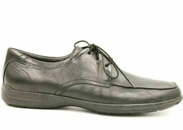Clarks Unstructured Men Casual Oxfords Size US 11.5M Black Leather - $45.82