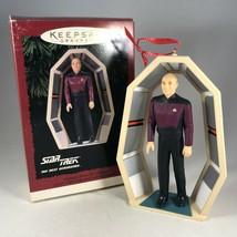 Hallmark Star Trek Christmas Ornament - Captain Jean Luc Picard - with Box - $19.00