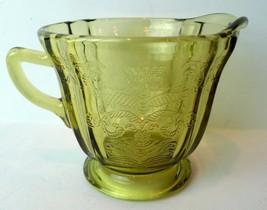 Madrid Creamer Golden Glow Federal Depression Glass - $19.68