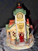Old World Village #4The Clocktower AA18-1373 Vintage image 5