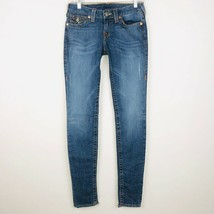 True Religion Womens 28 Embellished Skinny World Tour Jeans - $49.49