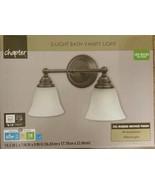 Chapter 2 Light Bath Vanity Light Oil Rubbed Bronze Finish LED Bulb Incl... - $17.81
