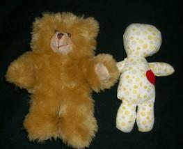 """8"""" Build A Bear 2 Piece Brown Teddy W/ Doll Inside Stuffed Animal Plush Toy 2006 - $23.38"""