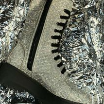 NEW In BOX Billionaire Bling Boot Club Exx Size 7 WOW! SHIIINYYY image 6