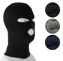 3 Hole Full Face Ski Mask Winter Beanie Balaclava Hood Tactical Snow Hat Cap Lot image 1
