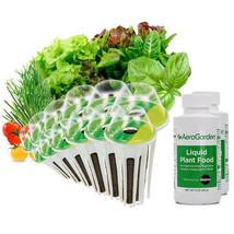 Salad Bar Gourmet and Tomato/Herb Seed Pot Kit AeroGarden 24 pod Can Use... - £37.70 GBP