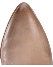 Frye Women's Reina Ash Grey Leather Western Ankle Bootie 3479258-ASH NIB image 6