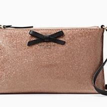 Kate Spade Mavis Street Amy Glitter Crossbody, Rose Gold - ₨7,346.16 INR