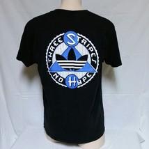 VTG 90s Adidas Trefoil Logo T Shirt Colorblock Tee Olympics Sport USA Sk... - $29.99