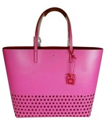 Kate Spade New York Ivy Drive  Perforated Leather Tote In Bougainvillea ... - $189.00