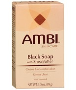 Ambi Skincare Black Soap with Shea Butter Cleans & Nourishes Skin 3.5oz - $5.45