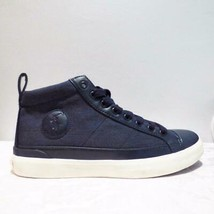 65.00 Polo Ralph Lauren Clarke Hi-Top Sneakers ,Heather Rip Stop,  Navy, - $39.35 CAD
