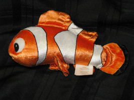 DISNEY FINDING DORY CORE NEMO PLUSH DOLL FIGURE ORANGE WHITE TROPICAL FI... - $16.92