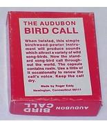 AUDUBON BIRD CALL - IOB - $8.95