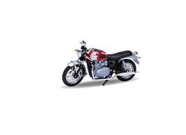 Triumph Bonneville T100 (2002) Diecast Model Motorcycle 12172PW - $19.37