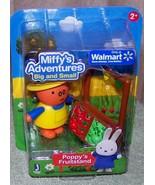 Miffy's Adventures Big & Small POPPY'S FRUITSTAND Mini Set New - $6.88