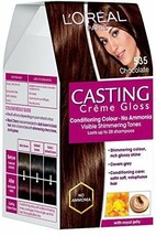 L'Oreal Paris Casting Creme Gloss, Chocolate 535, 87.5g+72ml FREE SHIP - $19.70