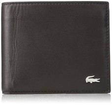 Lacoste Men's M Billfold Wallet Coin Key Ring Brown - $103.46
