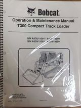 obcat T300 Track Loader Operation & Maintenance Manual Owner's 5 #6986975 - $26.00
