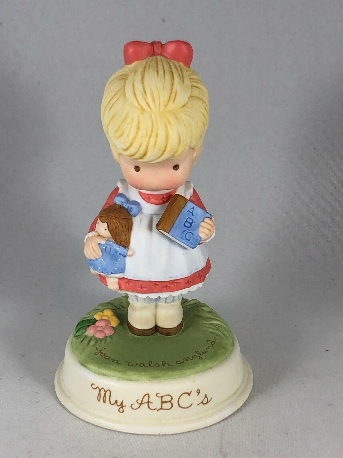 Vintage Avon Pretty Little Girl Porcelain Figurine - Joan Walsh Anglund MY ABCs