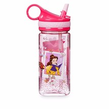 Disney Store Princess Plastic Snack Drink Flip Top Water Bottle 16 oz Ne... - $47.50