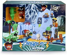 Pinypon Action Island Pirate of The Captain Alligator With 2 Figures Famosa - $207.48