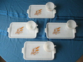 Golden Wheat Anchor Hocking 8 Pc. Snack Set - $19.79