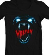 Wolfen T Shirt retro werewolf horror movie 80s classic 100% cotton graphic tee  image 2
