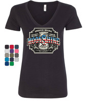 Moonshine American Original V-Neck T-Shirt Tennessee Whiskey - $8.56+