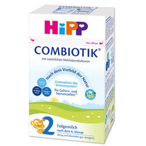 HiPP BIO Combiotic Stage 2 Organic Formula  FREE SHIPPING 4 BOXES 09/2021 - $119.95