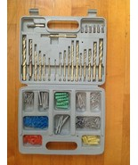 Titanium Drill Bit 100 Pc. Metric and Screw Bit  Includes Screws & Case - $28.70