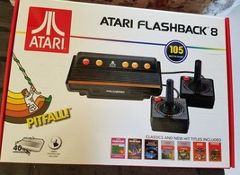 Classic Atari Flashback 8 Game Console with Built-in 105 Games Two Contr... - $45.98