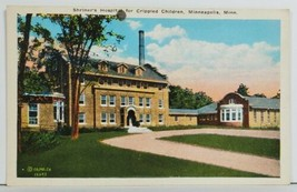 MN  Shriner's Hospital for Crippled Children Minneapolis Minnesota Postc... - $14.95