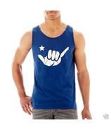 Arizona Graphic Tank Top Brisbane Blue New With Tags Sizes S, XL - $9.99