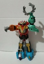 """Bandai Power Rangers Wild Force Isis Megazord 7"""" Action Figure Toy 2002 No Wings - $19.94"""