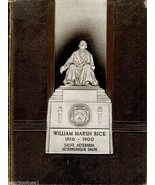 Rice Institute Houston Texas 1937 Yearbook Annual University College - $24.74