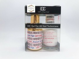 DND DC DUO LED / UV French White 0.5 oz - $10.88