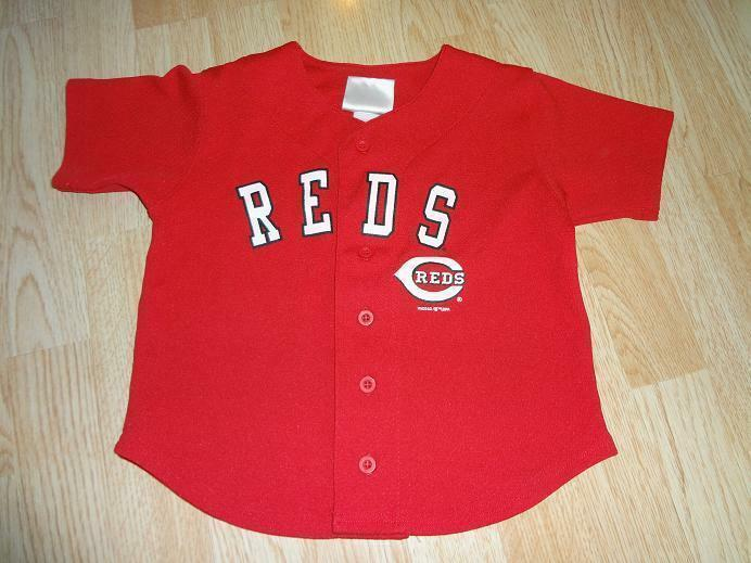 Youth Cincinnati Reds Sz 5 MLB (Red) Jersey