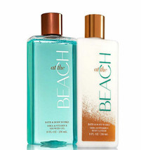 BATH & BODY WORKS At The Beach Body Lotion + Shower Gel Set - $25.63