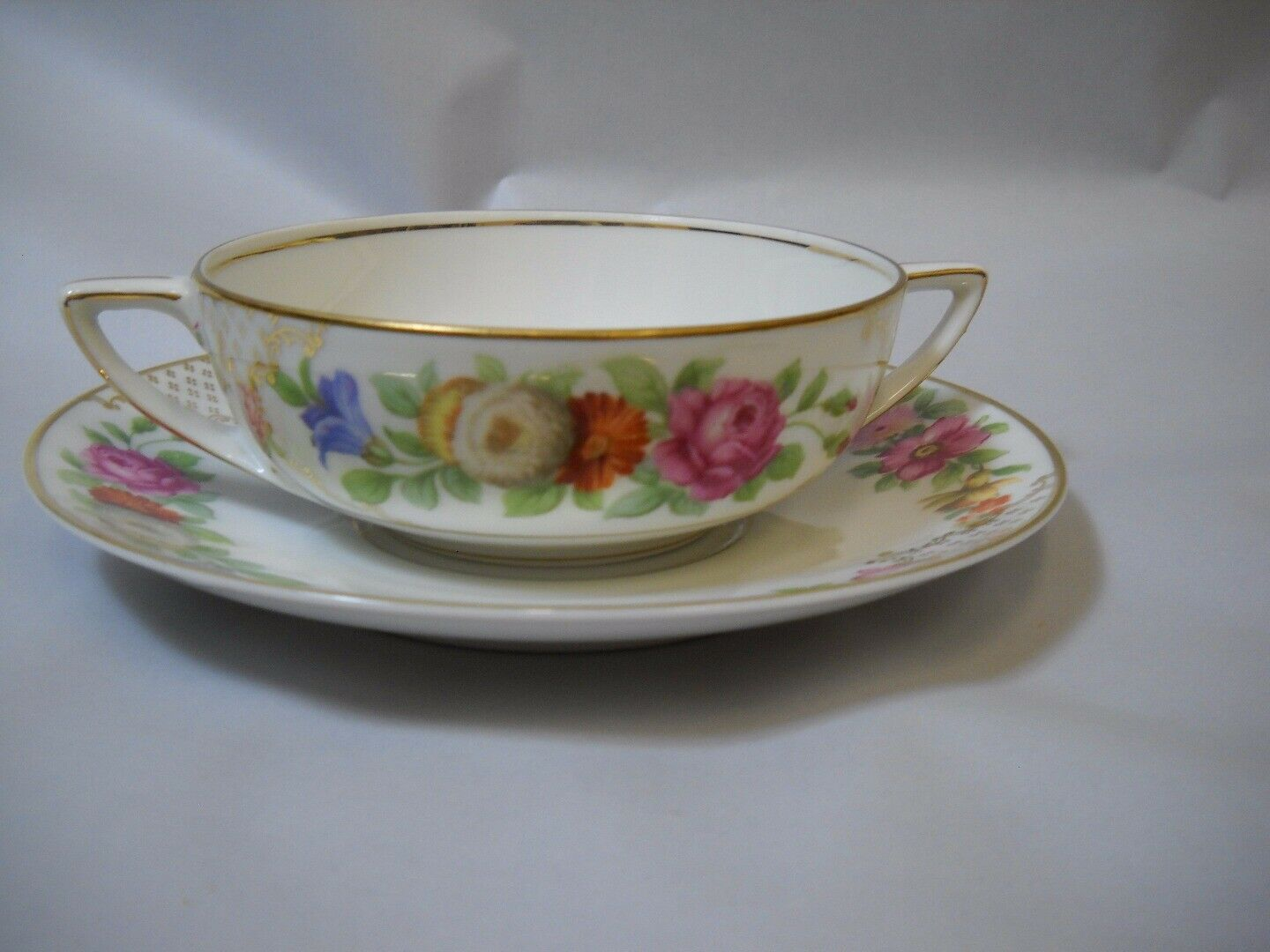 Primary image for Set of 6 BULLION bowls and PLATES set from ROSENTHALE China