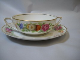 Set of 6 BULLION bowls and PLATES set from ROSENTHALE China  - $84.24