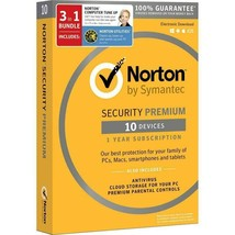 Norton Security Premium (10 Dev) + Norton Utilities (3 PCs) + Norton Tun... - $42.03