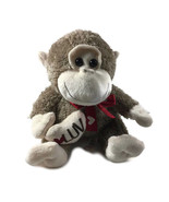 Dan Dee Brown Tan MONKEY Plush Toy 12 Inches Tall Stuffed Animal Lovey - $24.52