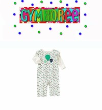"""Gymboree baby girls Balloon Dots """"We Have Arrived"""" One Piece New 0 3 6 12 18 24 - $16.39+"""
