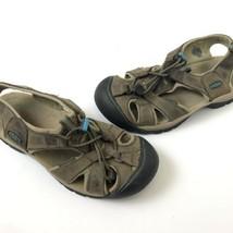 keen waterproof sport brown sandals womens size 6.5 - $18.80