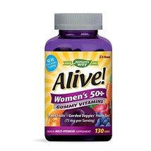 Nature's Way Alive!® Women's Gummy Multivitamin, Fruit and Veggie Blend 75mg per