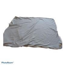 Zutano Aden and Anais Baby Boy Blanket Blue White Gingham Checks - $27.71
