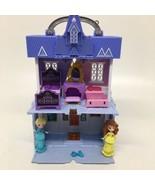 Disney Frozen 2 Pop Up Arendelle Castle Incomplete Rise & Shine Elsa & A... - $28.04