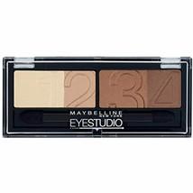 Gemey Maybelline Eye Studio Glamour Palette 05 Brown by Maybelline - $11.72